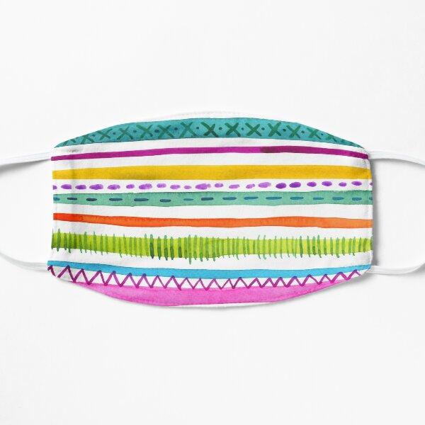 Summer Stripes Flat Mask