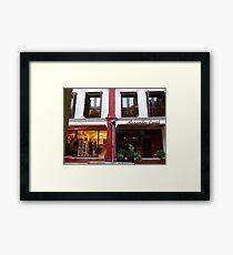 shops Framed Print