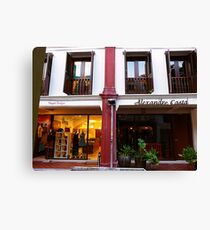 shops Canvas Print