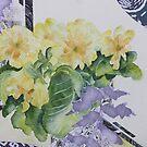 Primrose's in spring  by Kay Clark