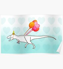 Party Daspletosaurus desperatus Poster