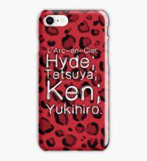 Leopard ♥ L'Arc~en~Ciel iPhone Case/Skin