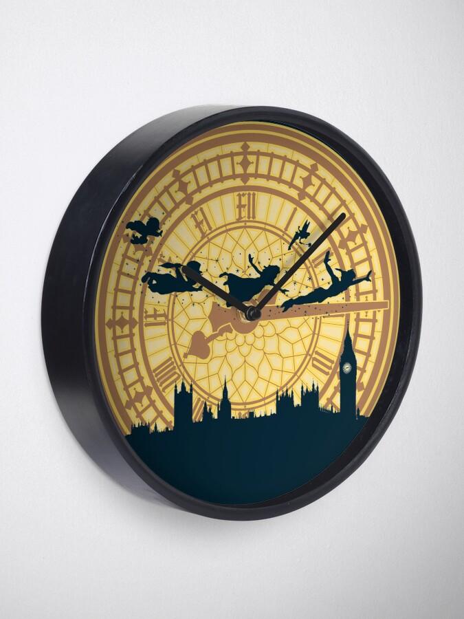 Alternate view of You can fly! Clock
