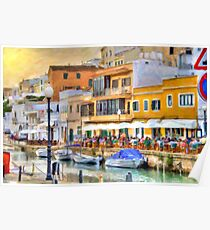 Ciutadella Port Poster