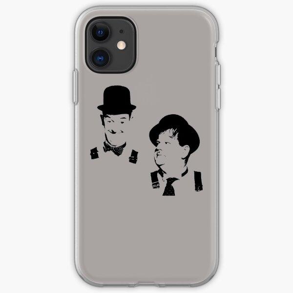Stan Laurel & Oliver Hardy iPhone Soft Case
