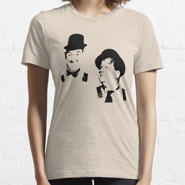 Stan Laurel & Oliver Hardy Essential T-Shirt