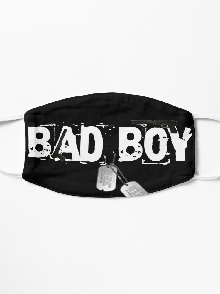 Alternate view of Bad Boy Design by MbrancoDesigns Mask