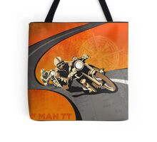 retro motorcycle isle of man tt poster by sfdesignstudio. Black Bedroom Furniture Sets. Home Design Ideas