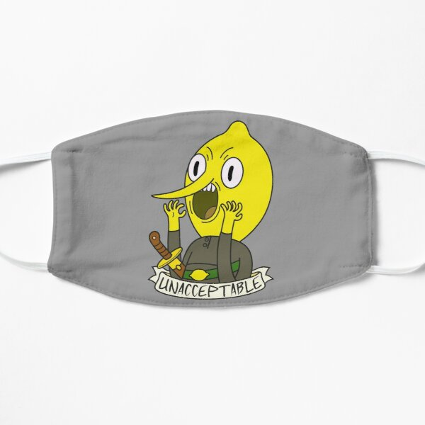 Lemongrab Flat Mask