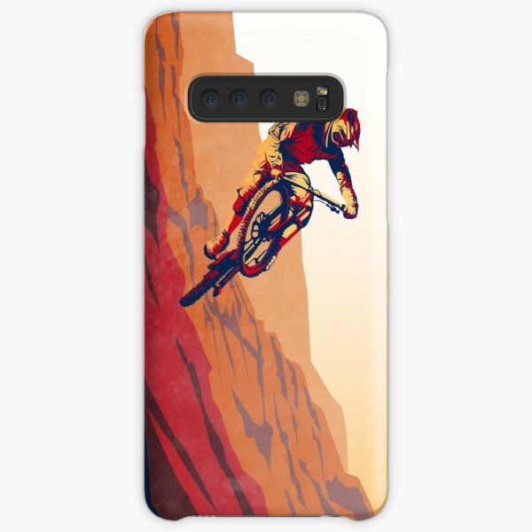 retro style mountain bike poster: Good to the Last Drop Samsung Galaxy Snap Case
