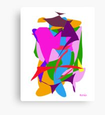 Pen and Black Ink  Canvas Print