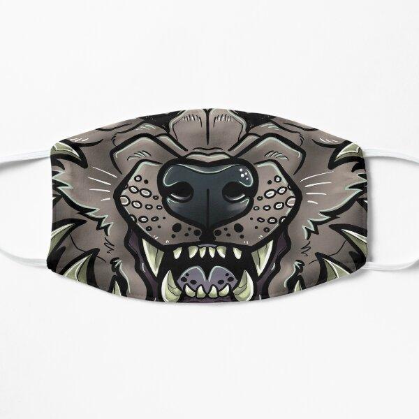 Werewolf Face Flat Mask