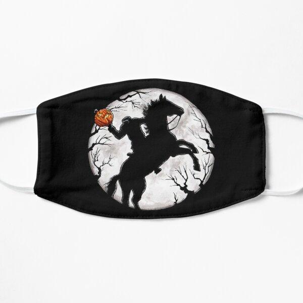 Halloween Headless Horseman Legend of Sleepy Hollow Spooky Pumpkin Flat Mask