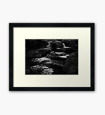 The Sound of Falling Down Framed Print