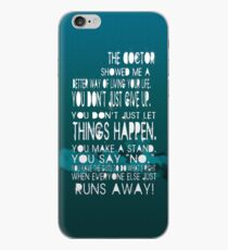 The doctor... iPhone Case