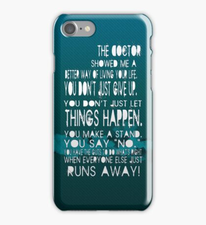 The doctor... iPhone Case/Skin