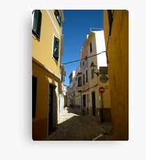 Mahon, Menorca Canvas Print