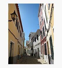 Mahon, Menorca Photographic Print