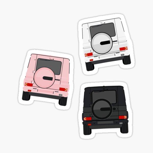 Triple Threat G Wagon Pack Sticker