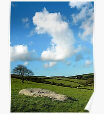 English country scene Poster
