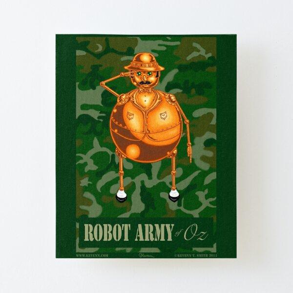 Tik-Tok:  Robot Army of Oz by Kevenn T. Smith Canvas Mounted Print