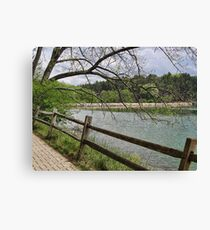 Slow and easy kind of day Canvas Print