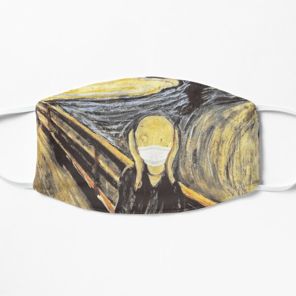 Munch Scream Protective Face Mask Covering Parody Print Mask