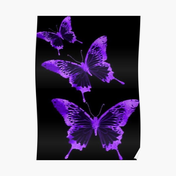 inverted butterfly Poster