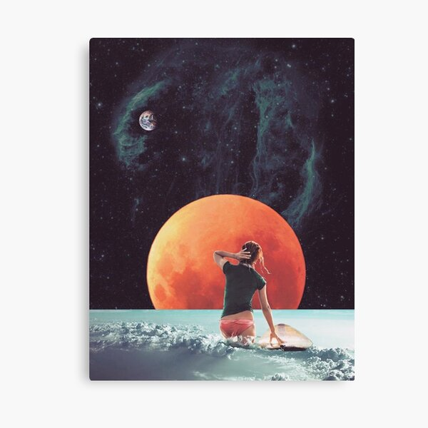 Cloud Surfing Canvas Print