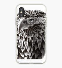 Ornate Tribal Shaman Eagle Print iPhone Case