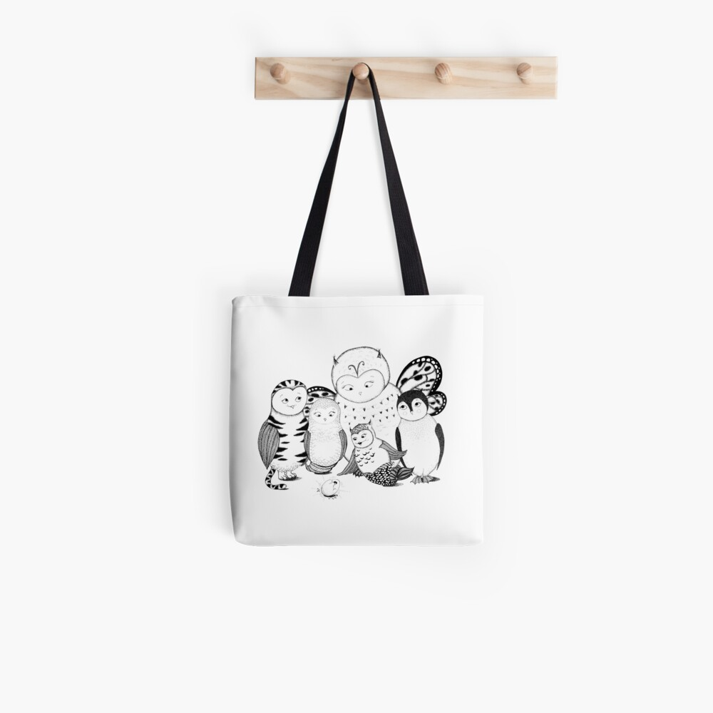 Hybrid Family Tote Bag