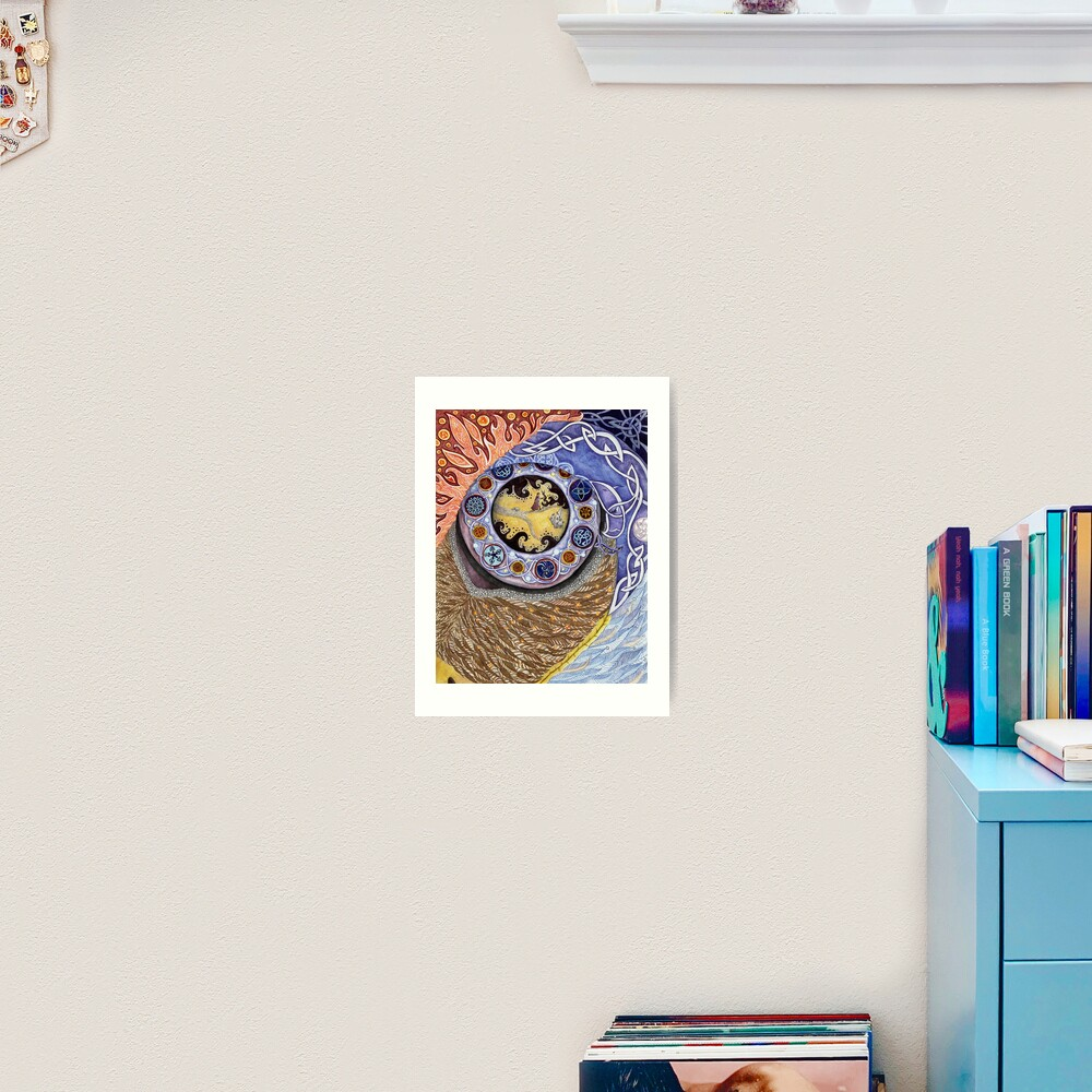 Eye of Achill Art Print