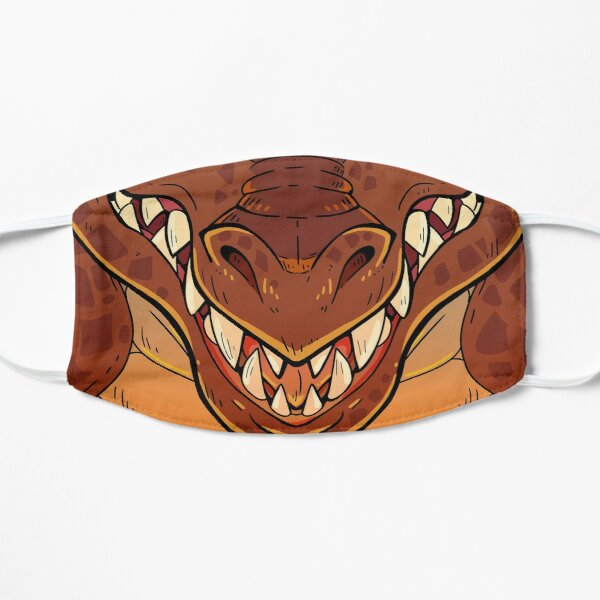 Red Dragon  Flat Mask