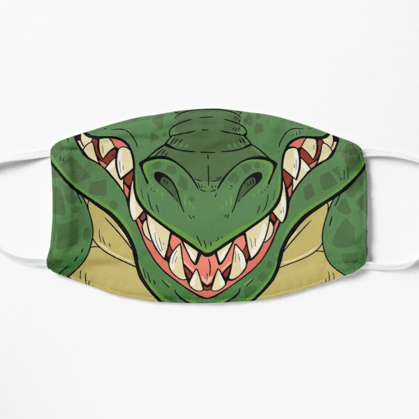 Green Dragon  Flat Mask