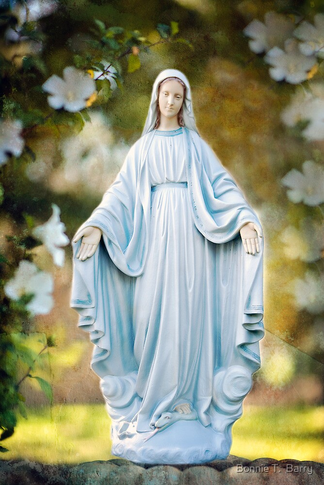 Our Lady of Grace 2455 Flower Garland by Bonnie T.  Barry