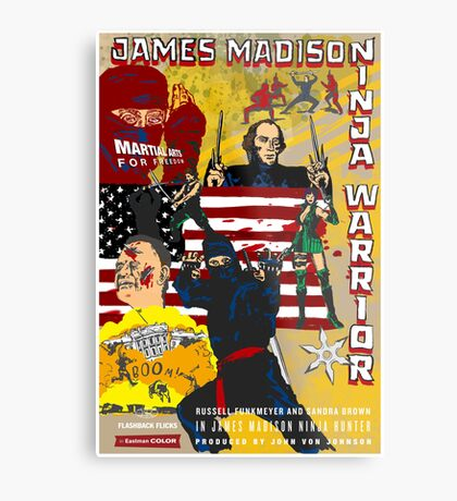 James Madison - Ninja Warrior! Metal Print