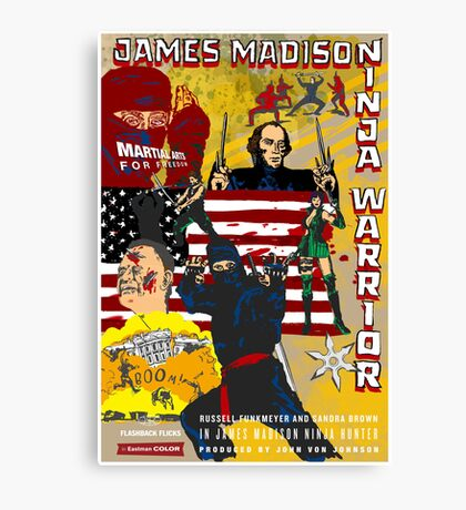 James Madison - Ninja Warrior! Canvas Print