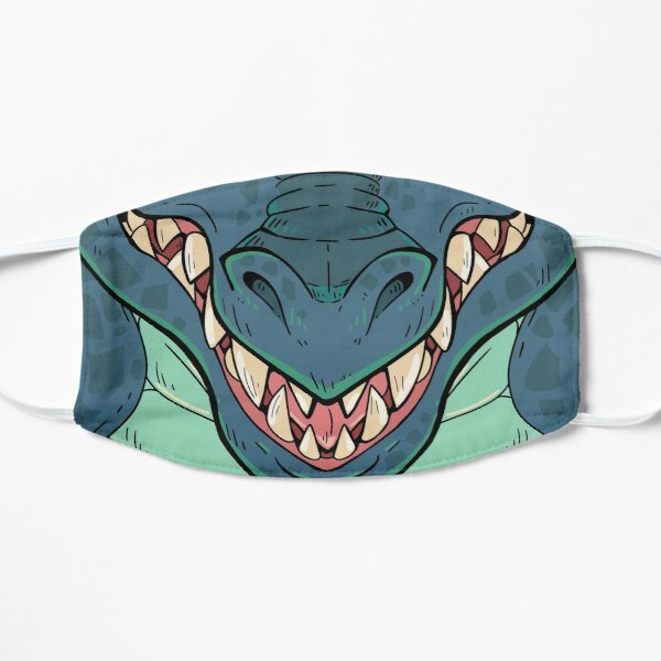 Blue Dragon  Flat Mask