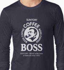 Suntory Boss Coffee Long Sleeve T-Shirt