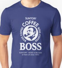 Camiseta unisex Suntory Boss Coffee