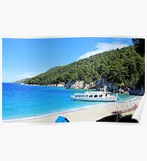 Kastani Beach - Skopelos Island Poster