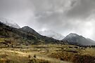 Storm Rolling at at Mount Cook / Aoraki National Park (1) by Christine Smith