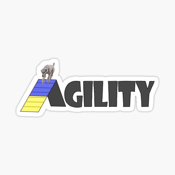 Personalized Dog Agility Sticker