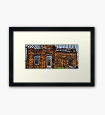 Condemned - HDR Framed Print