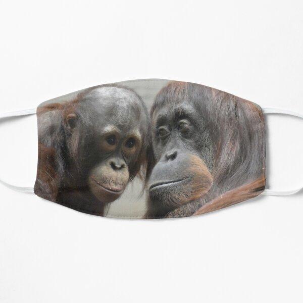Orangutans Redd and Iris at the National Zoo Flat Mask