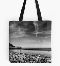 Laxey Beach on a Spring Afternoon Tote Bag