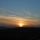 Caerphilly Mountain Sunset by Hucksty