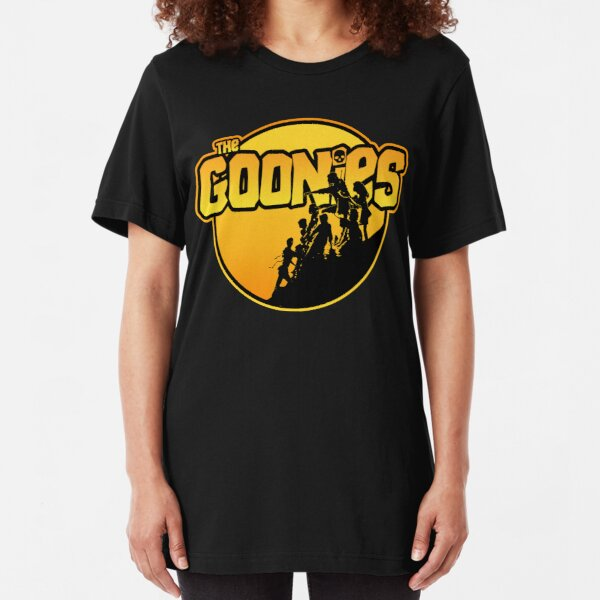 The Goonies - ver 1 Slim Fit T-Shirt