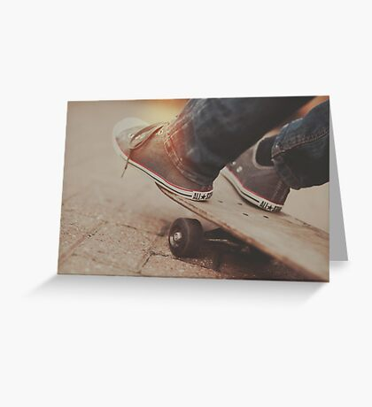 SkateBored Greeting Card