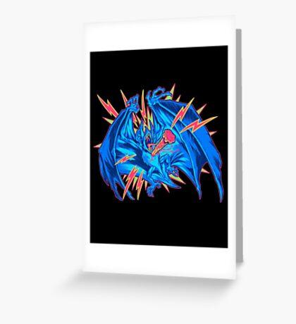VAMPIRE BAT: STAKED! Greeting Card